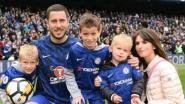 Eden Hazard papa van vierde zoontje