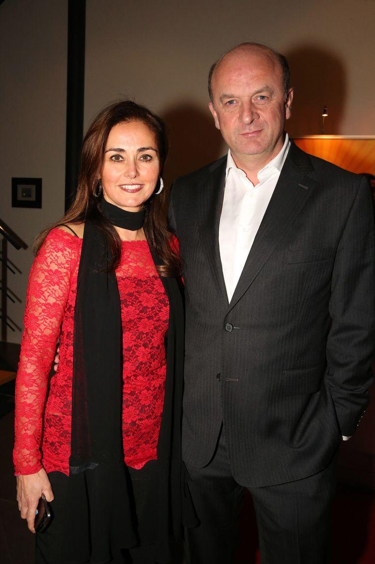 Marlène Marlene de Wouters met partner echtgenoot Herve