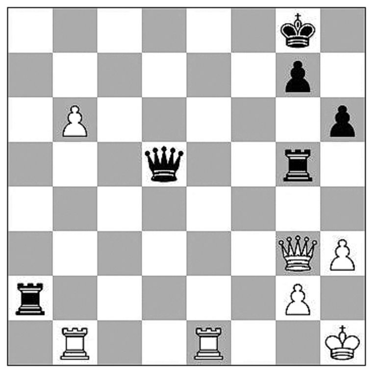 Kasparov-Anand (Zagreb, 2021). Beeld Max Pam