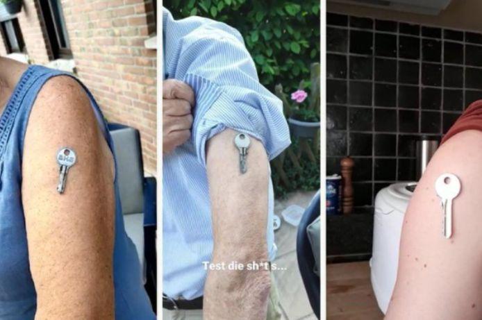 Op het internet circuleren er genoeg filmpjes en foto's van 'magnetische' armen. Klopt niets van.