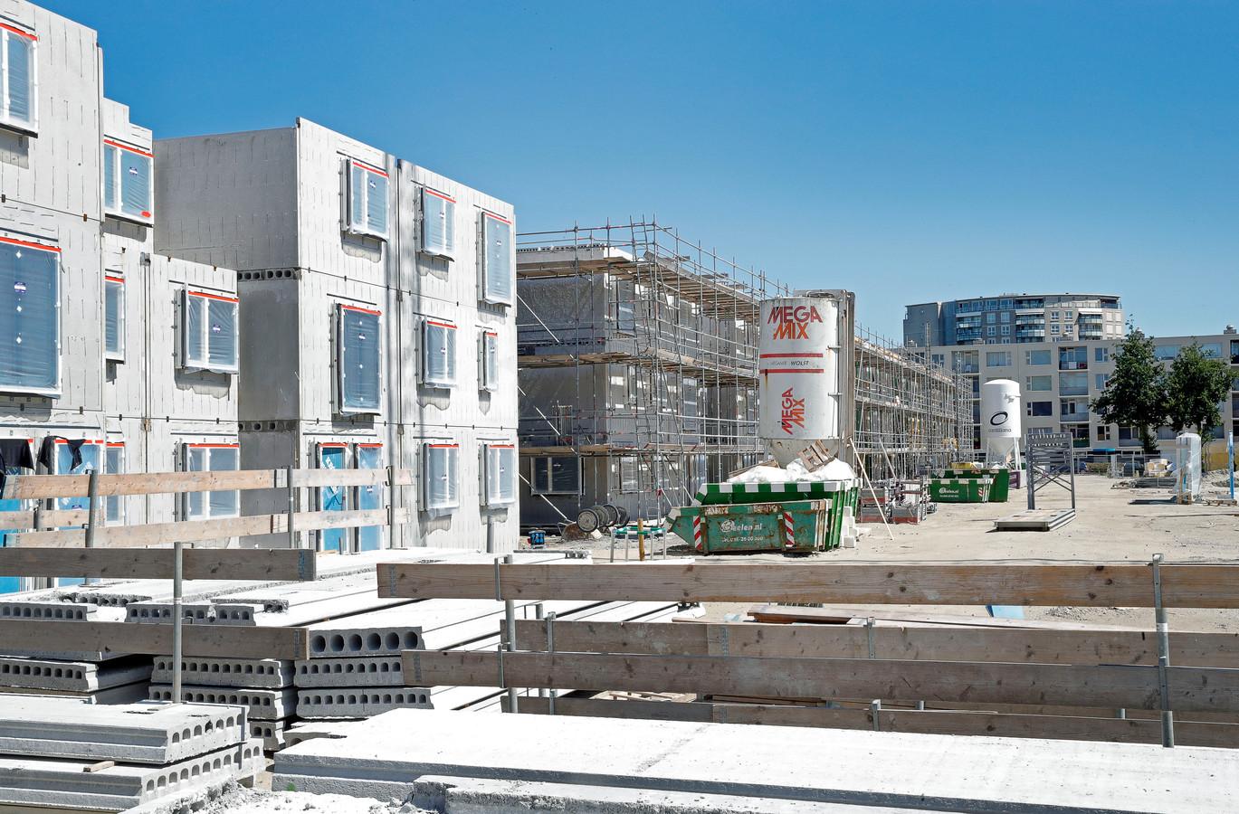 Nieuwbouw in het Sterrenkwartier in Spijkenisse