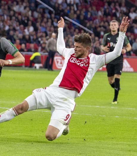 Eindelijk terug en direct voelt Ajax de druk