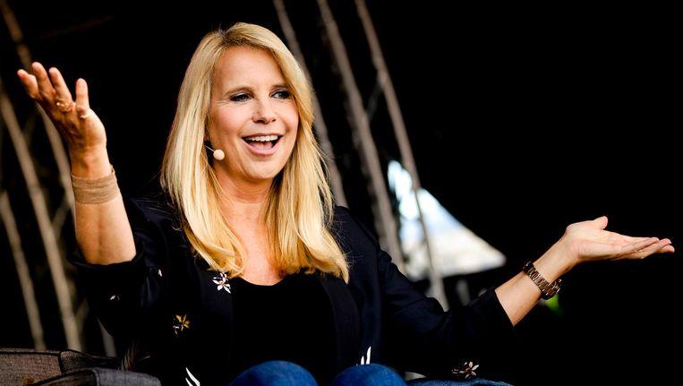 Voor één week in het jaar is Linda de Mol gastvrouw van haar eigen talkshow: Linda's Zomerweek Beeld anp
