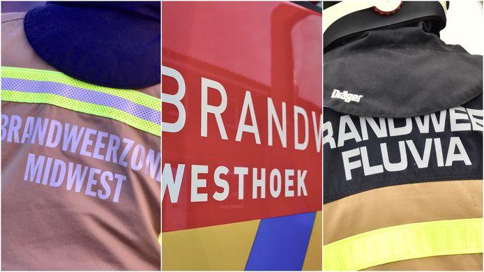De drie brandweerzones in Zuid-West-Vlaanderen staan klaar om elk moment uit te gaan helpen in de overstroomde gebieden, als daar om gevraagd wordt.