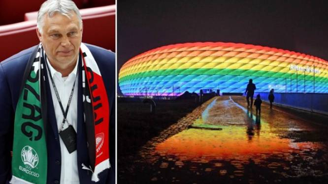 """UEFA reageert op protest tegen 'regenboogverbod': """"Verzoek om stadion in regenboogkleuren te hullen was politiek"""""""