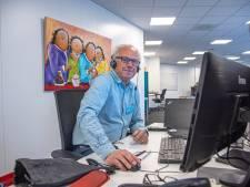 Ben Nijboer neemt pauze van pensioen voor coronawerk bij GGD. 'Voelde niet goed om in de tuin te zitten'