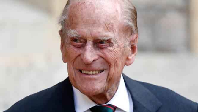 Britse prins Philip (99) opgenomen in het ziekenhuis