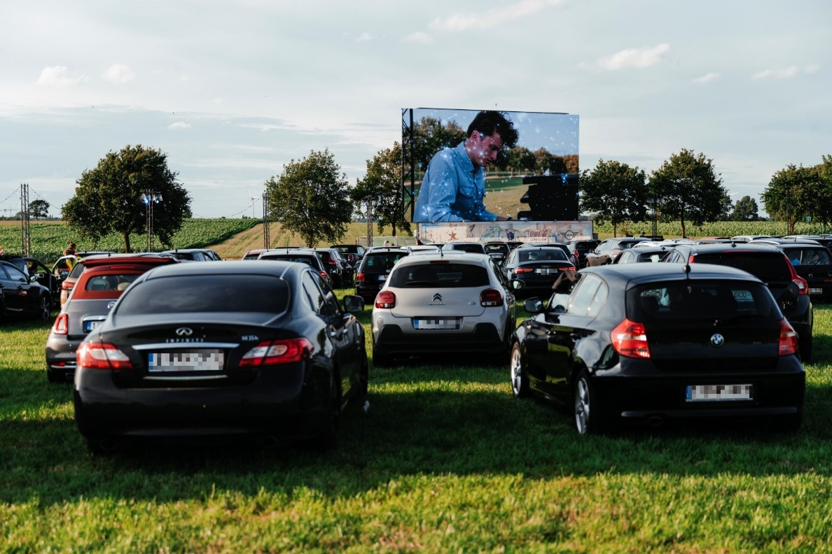 Kinepolis on Tour komt in Maldegem op een droomlocatie.