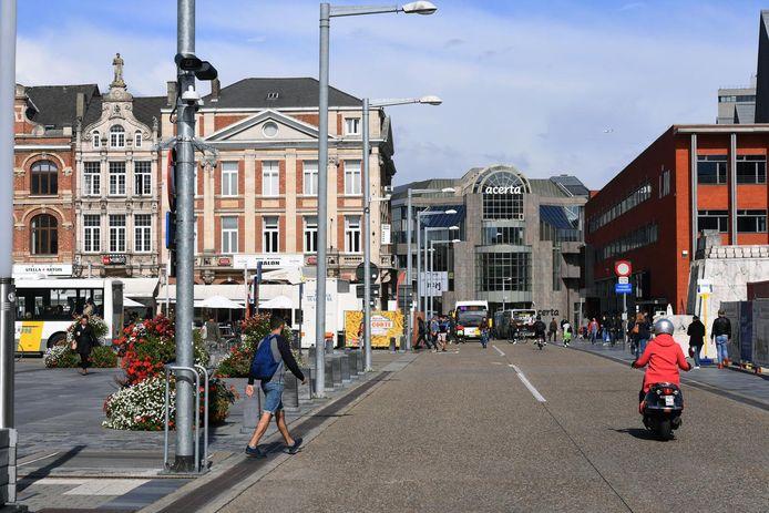 Het Martelarenplein in Leuven