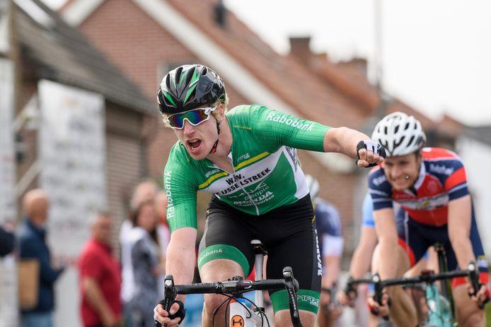 Jasper Schouten wint de Wim Hendriks Trofee in 2017.