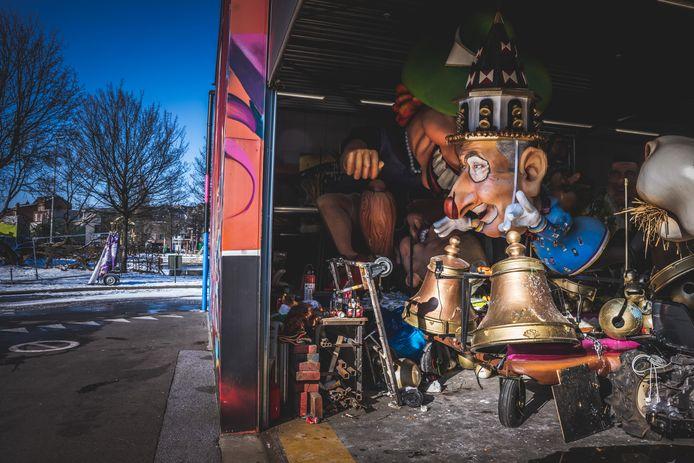 carnavalswerkhallen in Aalst