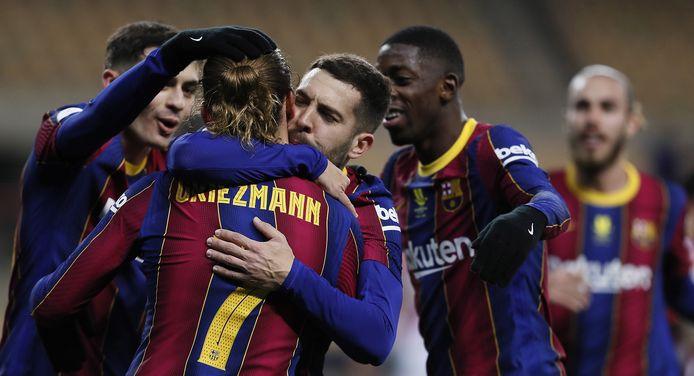 Griezmann leek de held van Barça te worden, maar dat was buiten de gelijkmaker in de 90ste minuut van Villalibre gerekend.