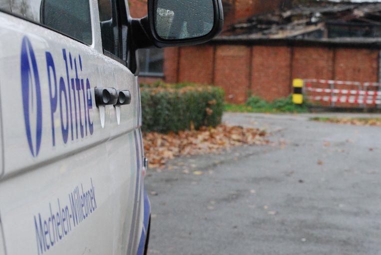 De politiezone Mechelen-Willebroek kwam ter plaatse