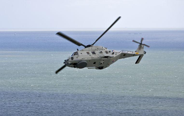 Uit voorzorg houdt Defensie de NH-90-vloot aan de grond. Beeld  Ministerie van Defensie