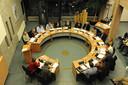 De gemeenteraad van Sint Anthonis vergadert met drie partijen.