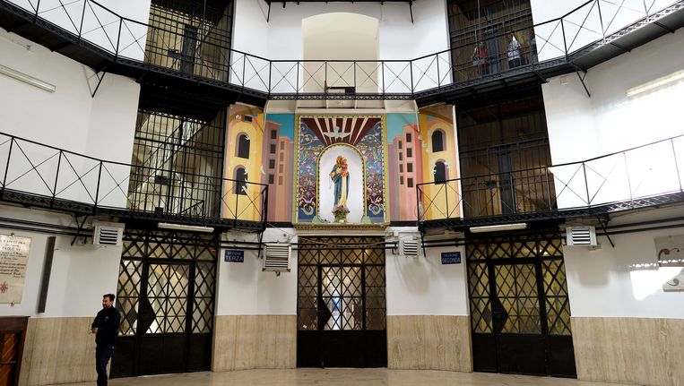 De Regina Coeli-gevangenis in Rome Beeld AFP