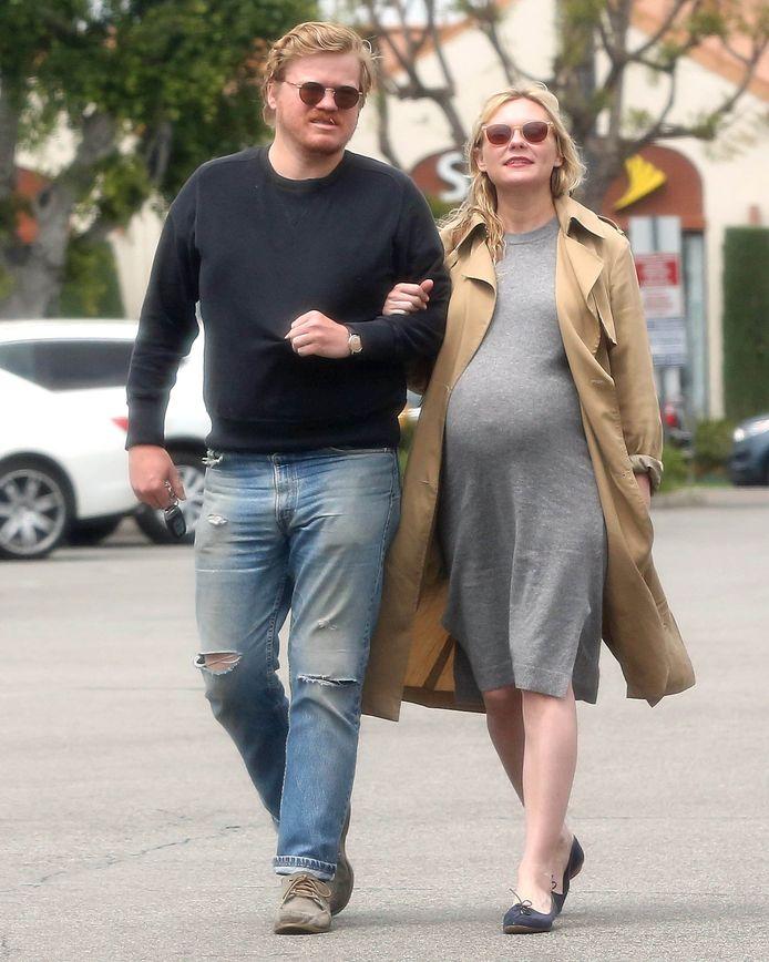 Kirsten Dunst en haar verloofde Jesse Plemons.