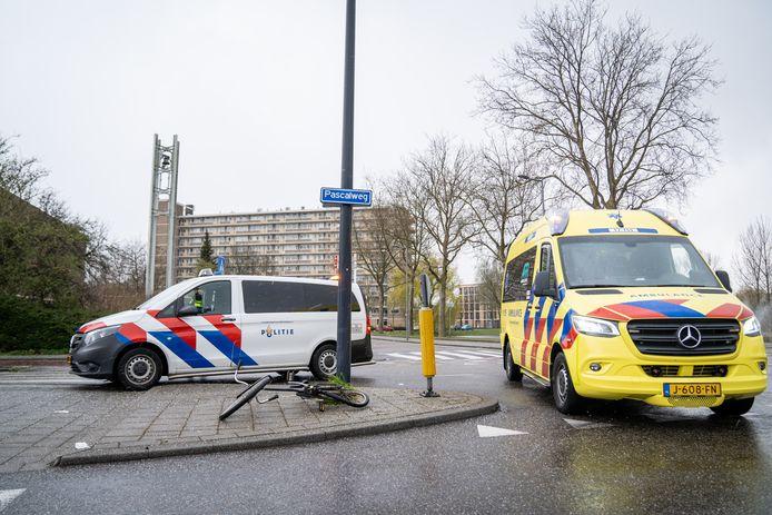 Het ongeluk vond plaats aan de Guido Gezelleweg.