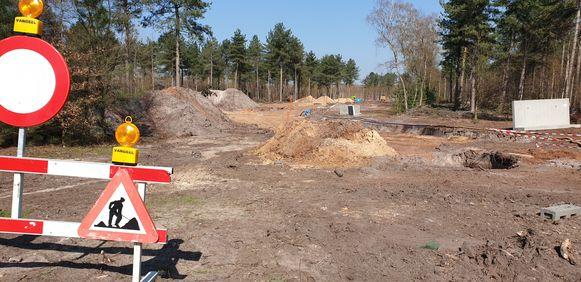 De uitbreiding van de industriezone van Weelde-Statie is in volle gang.