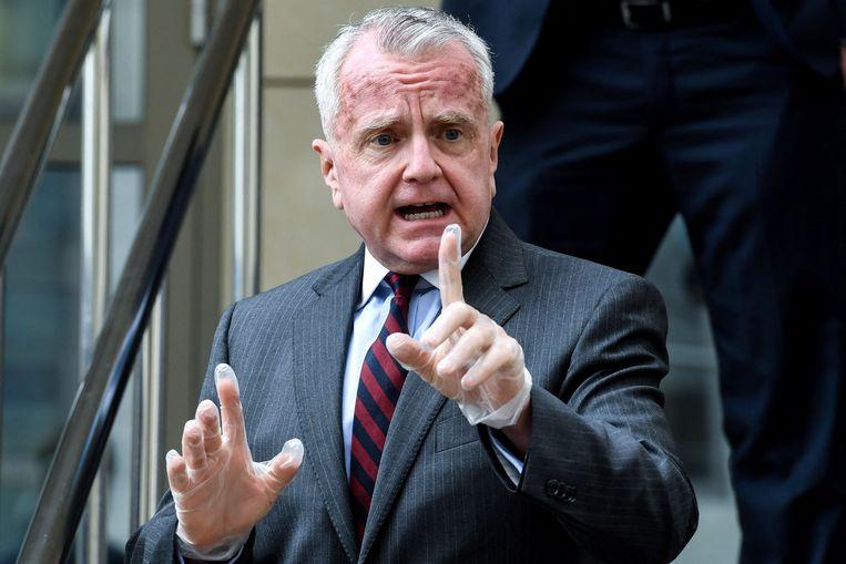 De Amerikaanse ambassadeur in Moskou, John Sullivan. Beeld AFP