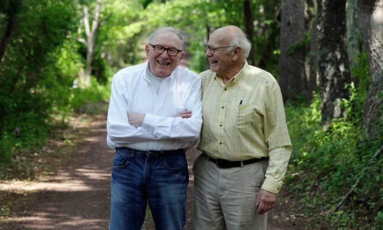'Vader en zoon' trouwen met elkaar