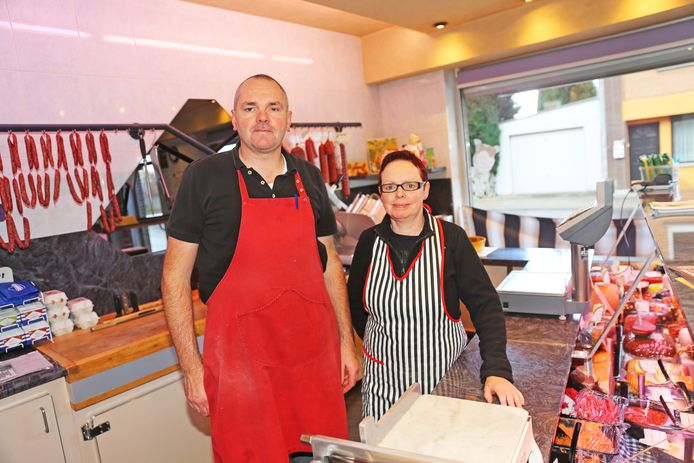 Ronny Pieters en Annick Timmermans zeggen op 14 december hun slagerij in de Voorstehoeve vaarwel.
