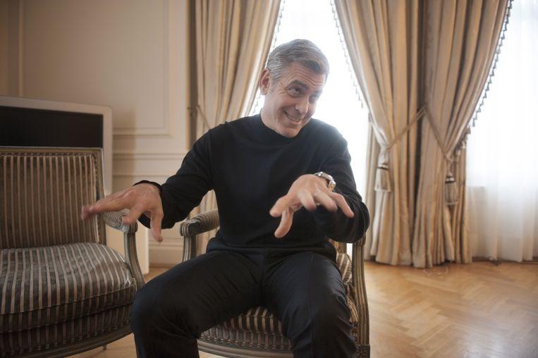 George Clooney. Beeld An-Sofie Kesteleyn