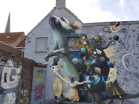 De Blind Walls Gallery is een project wat cultuur en historie met elkaar verbindt in Breda.