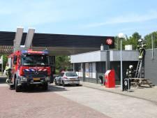 Brand in tankstation Reek door kortsluiting