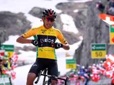 Leider Bernal loopt uit in bergrit Zwitserland