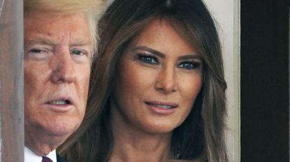 """Melania Trump reageert op geruchten over haar ontrouwe man: """"Ik heb belangrijkere zaken aan mijn hoofd"""""""