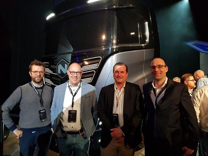 Het team van Aertssen kiest voor waterstof als aandrijvingsbron voor hun vrachtwagens.