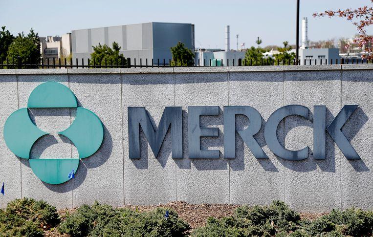 Het hoofdkwartier van Merck in New Jersey. Beeld AP