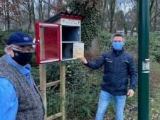 Nieuw! Minibieb bij inloophuis Het Open Venster in Alphen