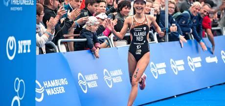 Favoriet Klamer valt buiten podium EK sprint triathlon