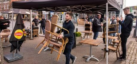 Invasie Nederlanders op Belgische terrassen blijft uit