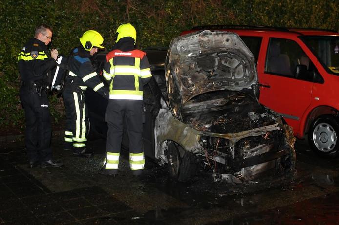 In Culemborg waren er dit jaar twaalf autobranden.