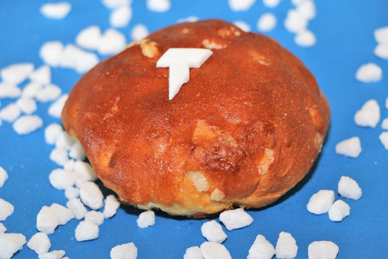 Parelsuiker is sterk aanwezig in de Suikerrockbol.