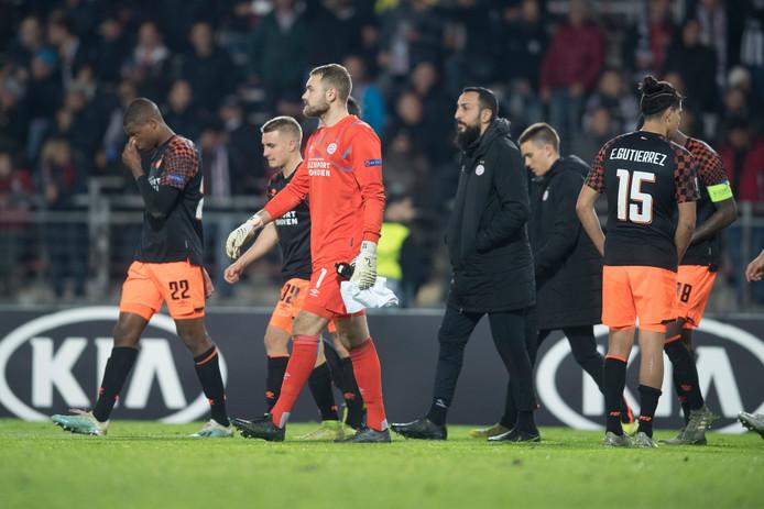 PSV ging er keihard af in Linz op donderdagavond: 4-1 verlies.