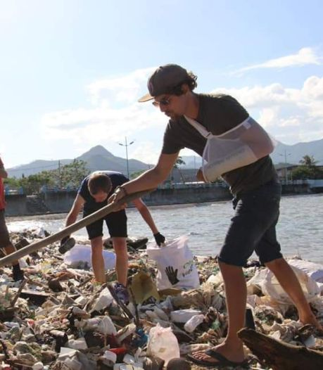 Hoe de missie van trashpacker Tijmen uit Hengelo uitgroeit tot wereldwijde beweging