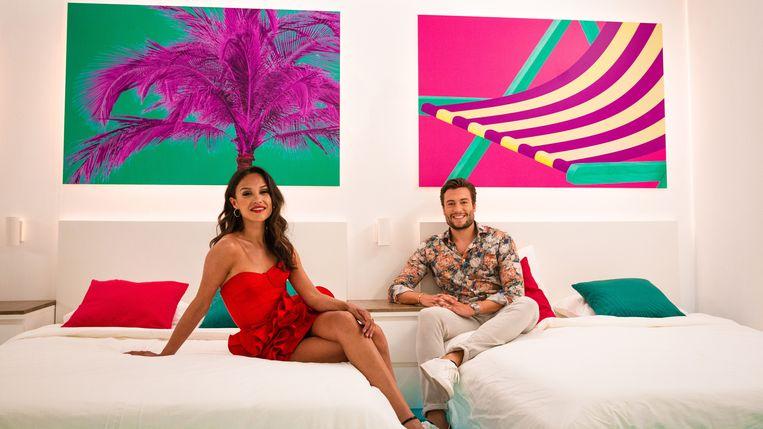 Holly Mae Brood en Viktor Verhulst.  Beeld SBS