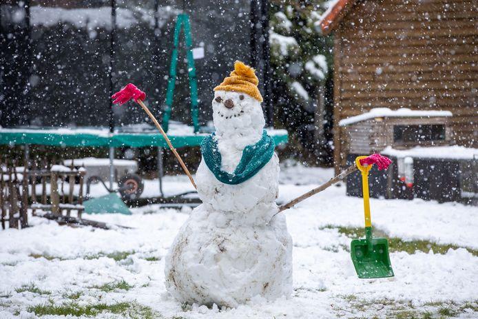 Sneeuw in Lummen