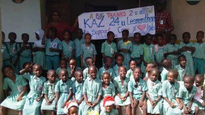 Lesmarathon levert 2.650 euro op voor schooltje in Gambia