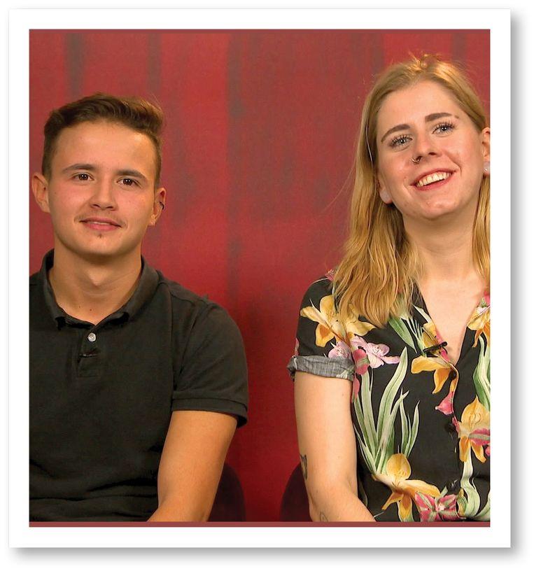 Jason: 'Bij een eerste date moet je kunnen tonen wie je bent, en hier was dat moeilijk.' Beeld VRT