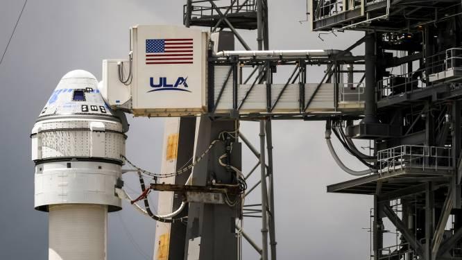 Nieuw ruimtevaartuig van Boeing blijft voorlopig op de grond