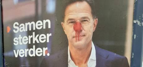 Hitlersnorretje voor Smolders en rode neus voor Rutte:  vooral rechtse politici moeten het ontgelden
