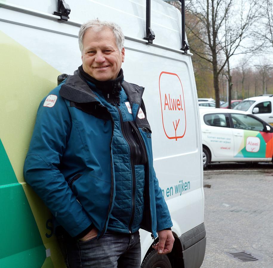 Jan Braspenning, bevlogen sociaal beheerder van Alwel.