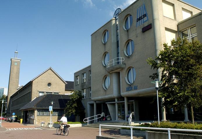Het hoofdkantoor van Delta in Middelburg. foto Ruben Oreel