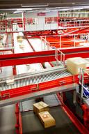 DPD bouwt hub in Vilvoorde. Deze sorteermachine is op zich al 25 miljoen euro waard.