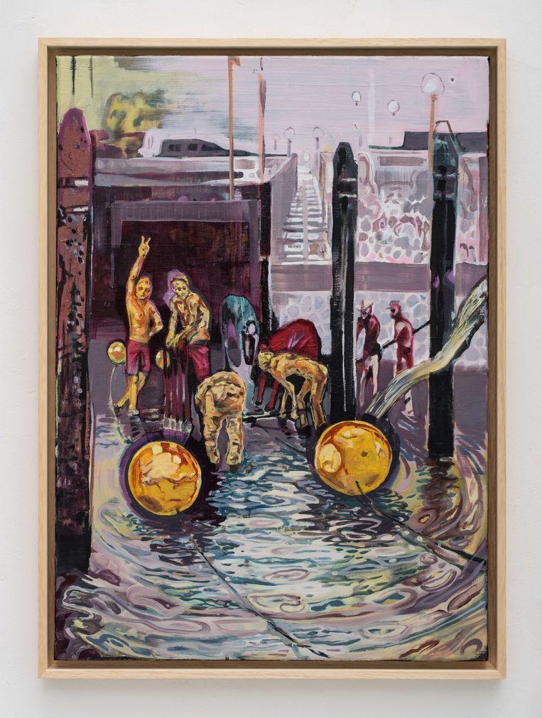 Jonat Deelstra, Wierstation (2021), GoMulan Gallery. Beeld GoMulan Gallery